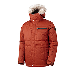 16 540˚ AIR PADDED JACKET (RUST)