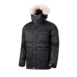 16 540˚ AIR PADDED JACKET (BLACK)