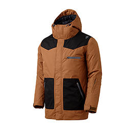 16 180˚ SWITCH STANDARD JACKET (BROWN/BLACK)