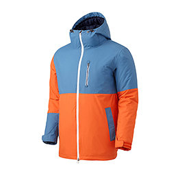 16 180˚ SWITCH SLIM JACKET (ORANGE/SLATE BLUE)