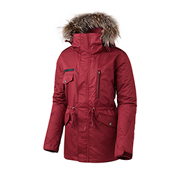 16 50:50 GRIND WANNA BE JACKET (BURGUNDY)